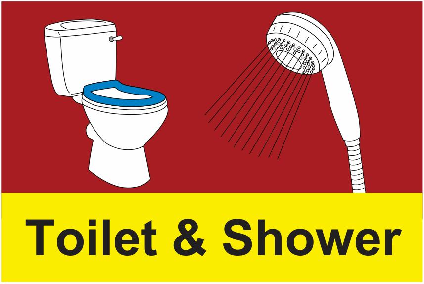 Bathroom Signs Uk dementia toilet & shower sign