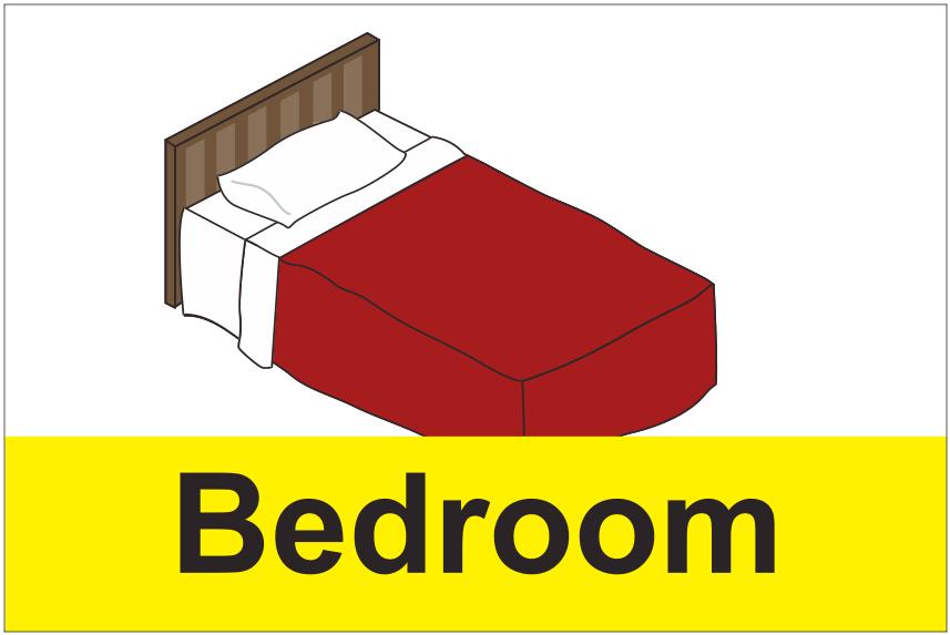Dementia Bedroom Sign